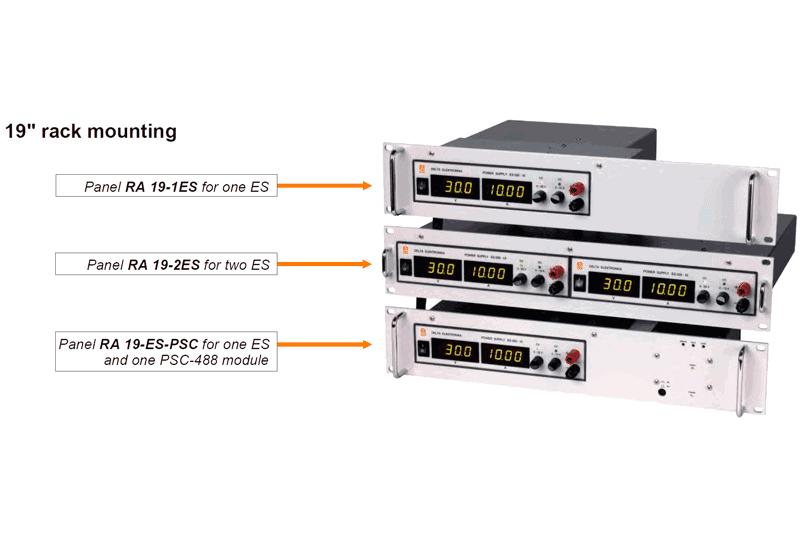 ES030-10 Rack Setup
