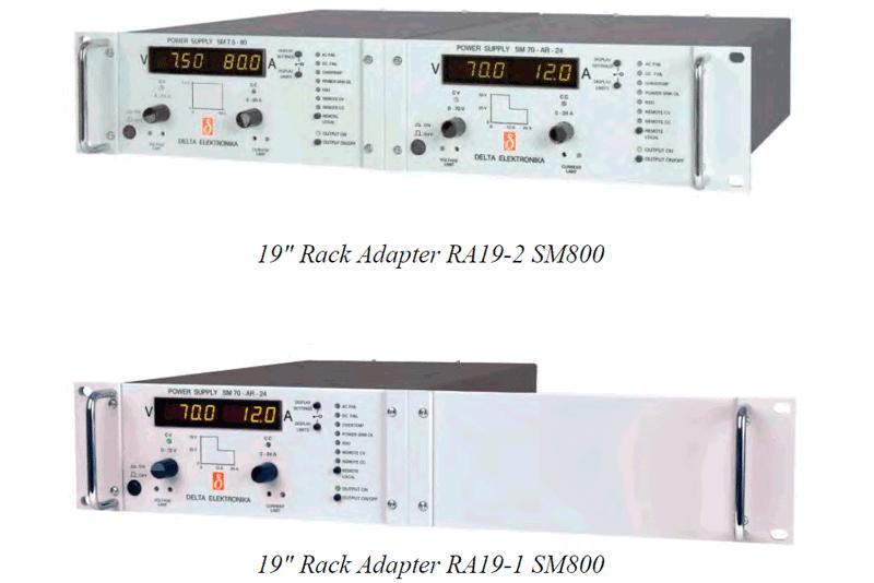 SM 800 Rack Setup