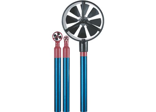 Vingehjuls anemometer Ahlborn Almemo FVA915 med snaphoved