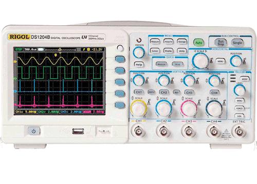 Digital Oscilloskoper og HV prober