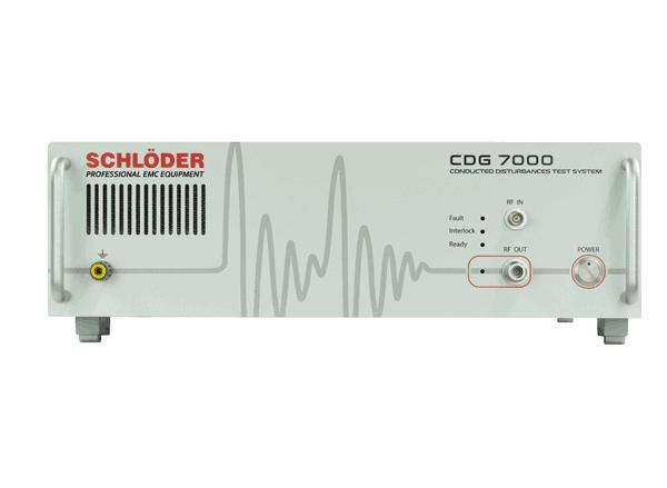 CDG 7000 : Nyt testsystem fra Schlöder EMV